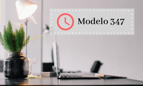 modelo347 plazos presentacion