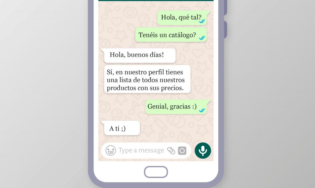 Whatsapp Business para vender más en mi empresa hortufrutícola