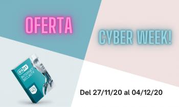oferta cyber week de eset antivirus distribuidor oax software