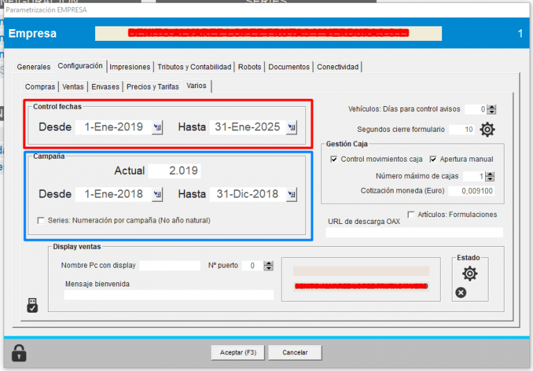 control de fechas frutix prov4